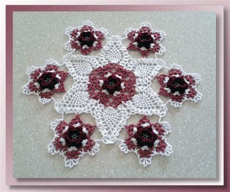 Garden Doily Primrose Garden Doily Crochet Doily Patterns
