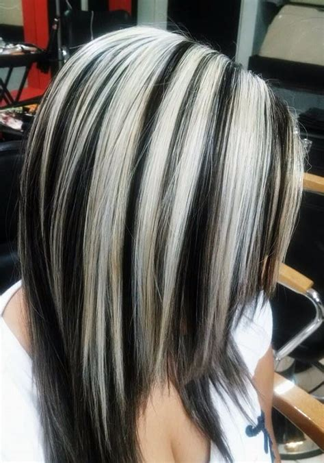 black and silver low lights black and silver low lights best 25 burgundy blonde hair