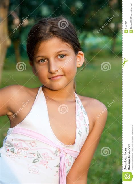 yng girl outdoor portrait of a young girl stock photos image 9167793