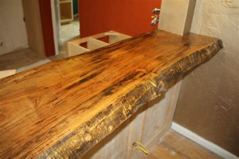 wood bar tops slab wood live edge vanity tops bar tops and counter tops made