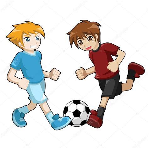imagenes niños jugando futbol ni 241 os jugando f 250 tbol en fondo blanco archivo im 225 genes