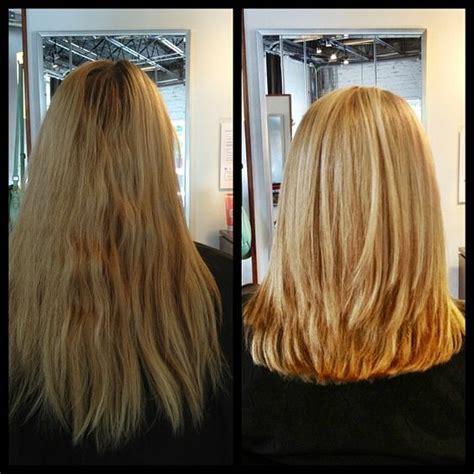 Before And After Medium Layered Haircuts | medium length layered hairstyles before and after before
