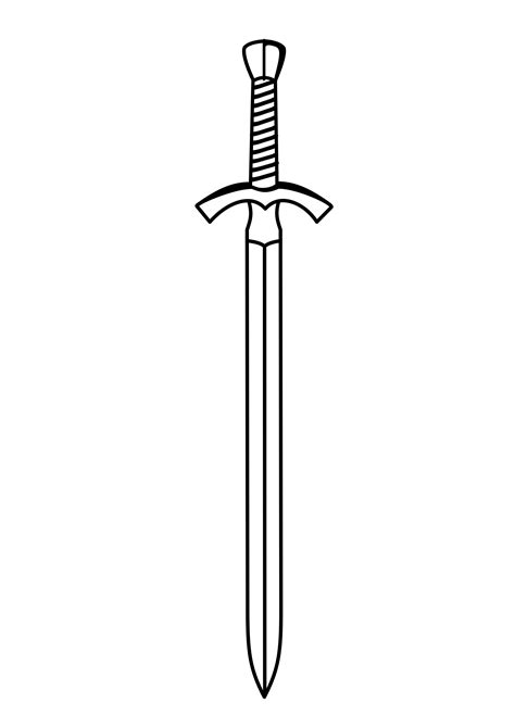 sword tattoo png sword outline clipart clipground