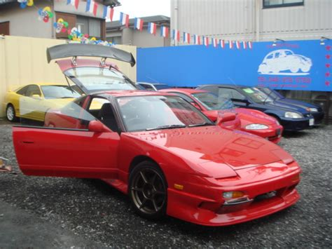 nissan 180sx modified nissan 180sx type x turbo rps13 for sale japan car on