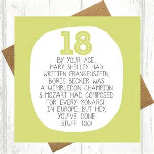 by your age 18th birthday card by paper plane notonthehighstreet