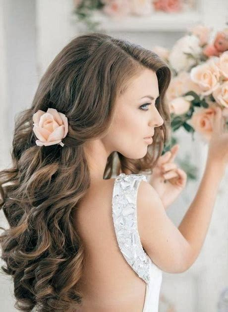 long hairstyles for bridal party wedding party hairstyles for long hair