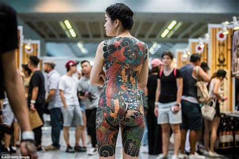 full body tattoo convention tattoo convention in hong kong daily mail online