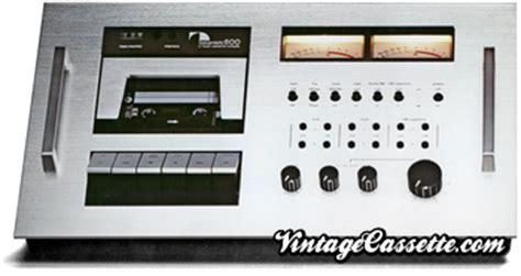 nakamichi 600 cassette deck naks