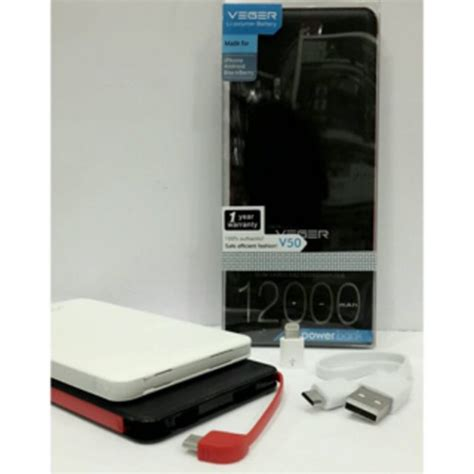Power Bank Veger 12000mah powerbank veger 12000mah v50
