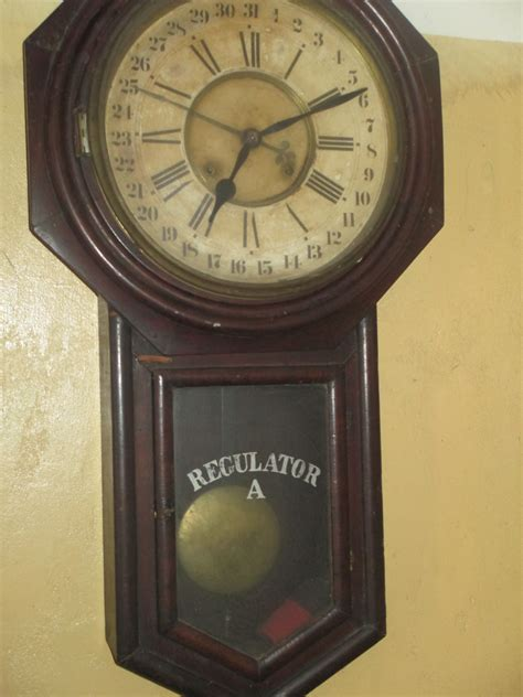 clock made of clocks i have an wall clock made by ansonia clock compnay new york