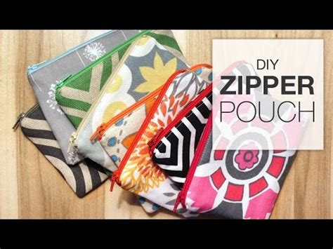 youtube zipper tutorial diy zipper pouch sewing tutorial youtube
