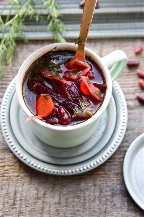 soupe de betteraves  la russe  veggie recettes