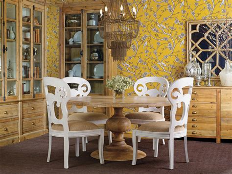 magnolia dining table antique atelier transitional