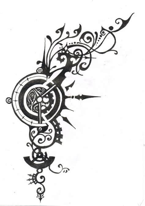 tribal gear tattoo designs 25 best ideas about steunk design on