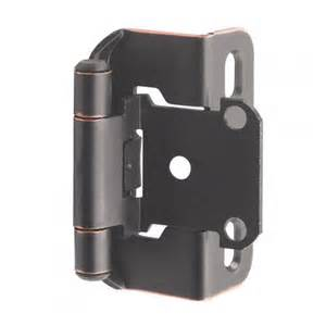 self closing partial wrap cabinet hinge 1 2 quot overlay