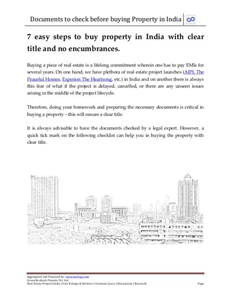share to buy houses 7 easy steps to buy property in india with clear title and no encumbr