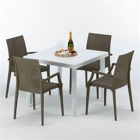 tavoli da giardino in rattan salotti in rattan da giardino tavoli da giardino in