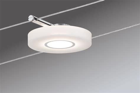 illuminazione a binario basso consumo lichtarena len und leuchten paulmann 94109 seil set