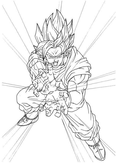 goku kamehameha coloring pages goku coloring pages 187 coloring pages kids