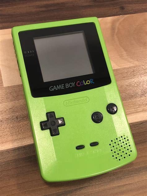 backlit gameboy color original non backlit boy color esotericmods