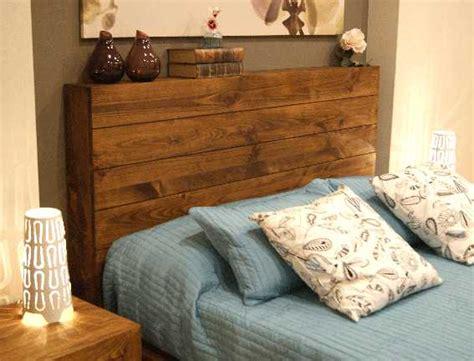 cabecero tablas madera medidas y cabecero de madera r 250 stico con tablas horizontales le