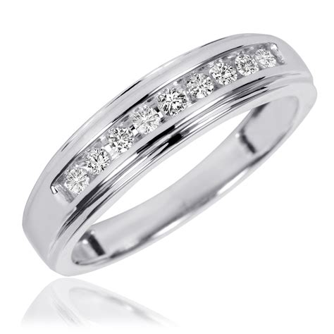 white gold wedding ring sets his and hers hd gold ring