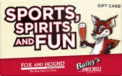 Fox And Hound Gift Card - buy fox and hound gift cards raise