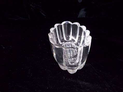 pattern utensil holder vintage princess house heritage pattern ribbed buffet