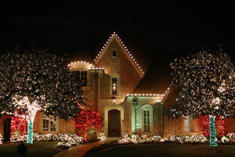 christmas tree lights installation