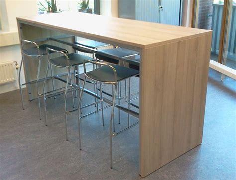 table de bar 140x80cm hauteur 110cm