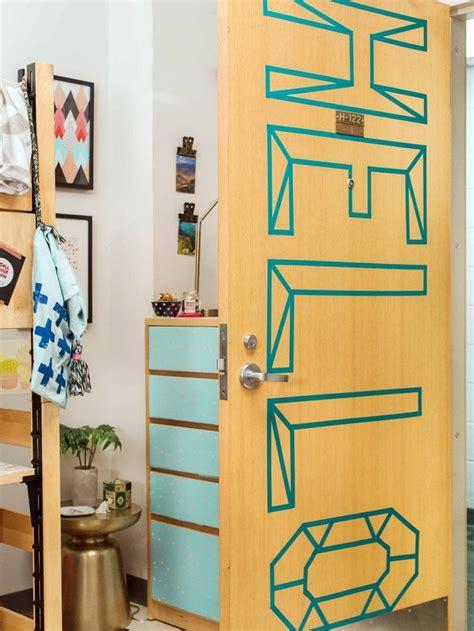 cute ways to decorate your bedroom door best 25 washi tape door ideas on pinterest washi tape