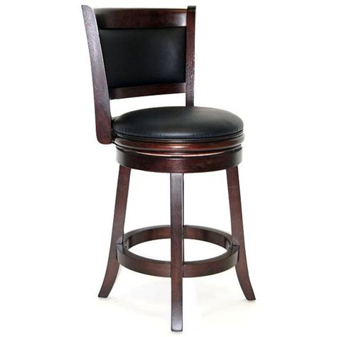 boraam industries 24 augusta bar stool in cappuccino
