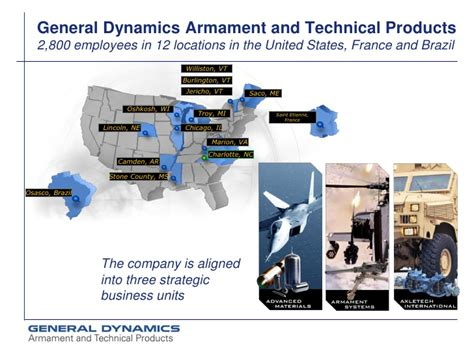 general dynamics lincoln ne general dynamics armament and technical products inc