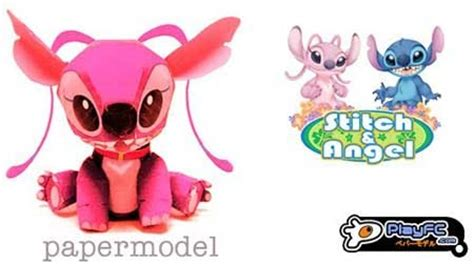 Stitch Papercraft - lilo stitch papercraft experiment 624