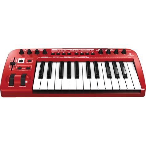 Midi Controller Behringer Umx 250 behringer u umx250 usb midi keyboard controller umx250 b h