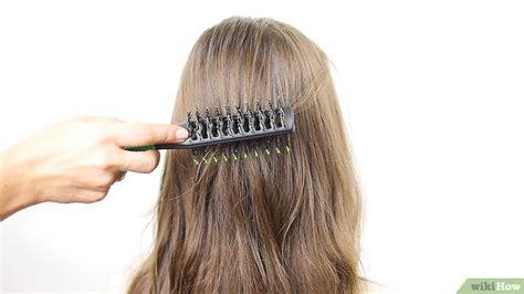 cara membuat cepol rambut tipis 6 cara untuk membuat cepol rambut wikihow