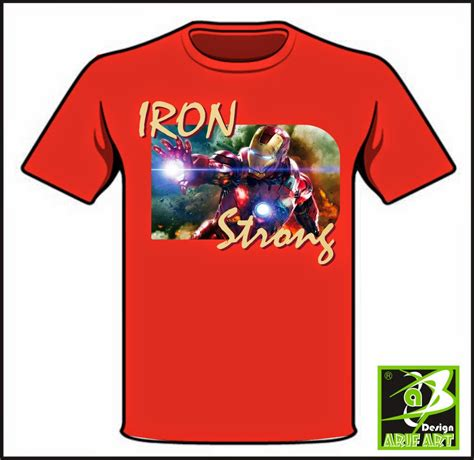 desain kaos distro jepang koleksi lambang dan logo desain kaos distro iron strong
