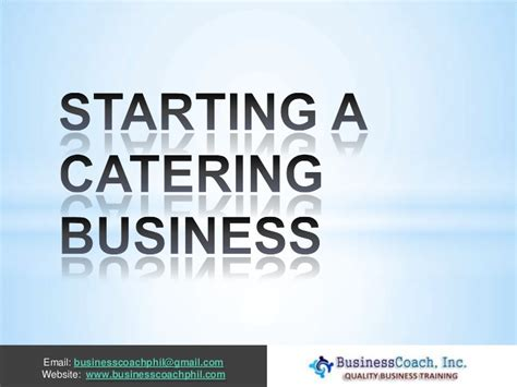 small home based catering business 28 images chef aims