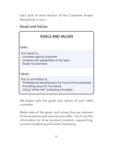 Ppt Customer Avatar Worksheet Ebook Template Powerpoint Presentation Id 7376834 Customer Avatar Template