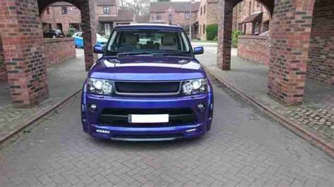 range rover sport modified range rover sport facelift modified autobiography wide
