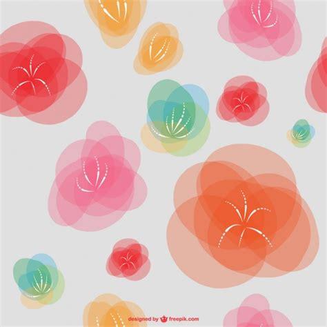 imagenes vectores abstractas fondo de flores abstractas descargar vectores gratis