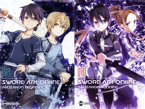 sword 12 light novel alicization rising books volumes finalizados sword light novel