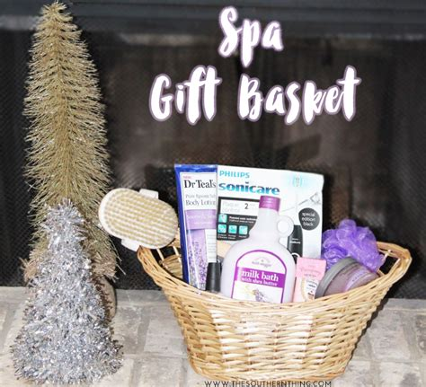 diy spa gifts diy spa gift basket the southern thing
