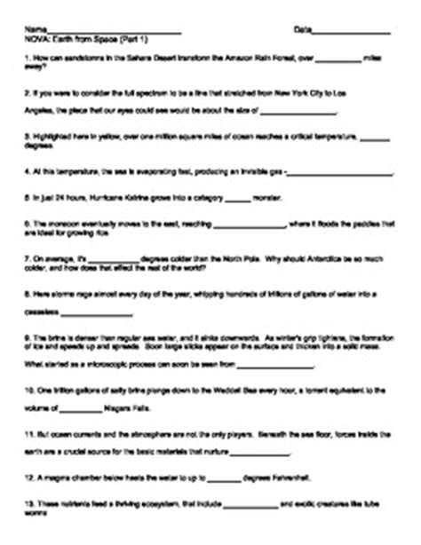 pattern matching part 2 answer key earth and space science worksheets worksheets