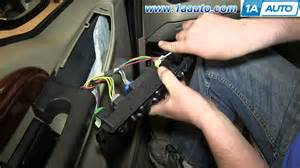 how to install replace power mirror switch 2000 05 ford