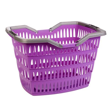 laundry with handles large 30 litre laundry basket with folding handles storage