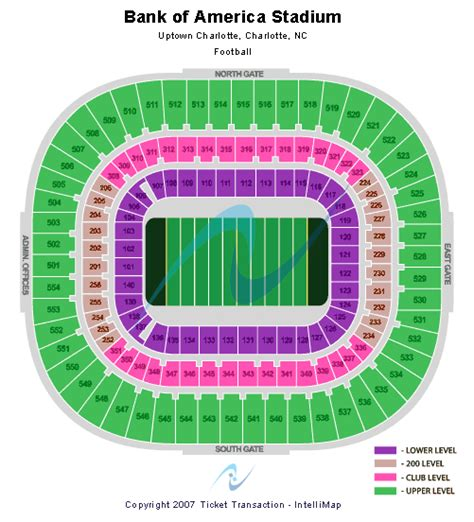 bank of america stadium seating cheap bank of america stadium tickets