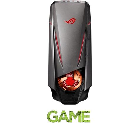 asus republic of gamers gt51ch gaming pc deals pc world