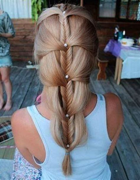 How To Do Cool Hairstyles by 10 Cool Ideas To Do Fishtail Hairstyle 7 Styleoholic