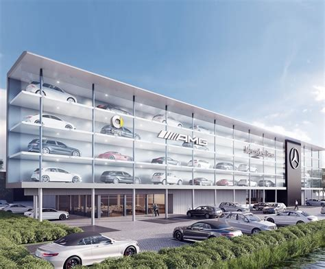 Mercedes Flagship by Mercedes Bouwt Flagshipstore In Den Haag Automotive